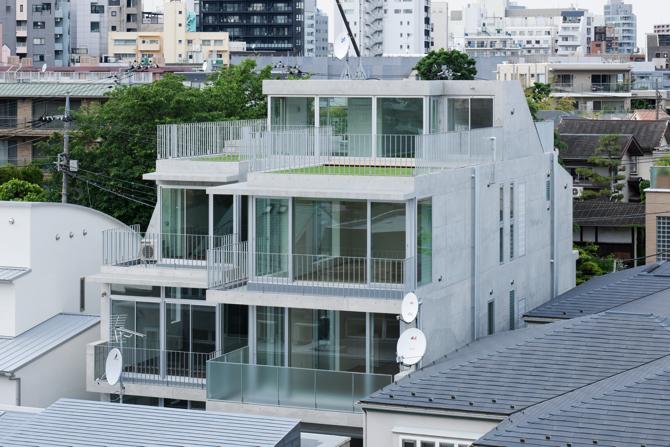 中野の二世帯住宅